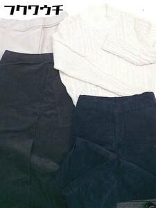 ■ 無印良品 まとめ売り4点セット S&Mサイズ混合 長袖 セーター コーデュロイ パンツ スカート レディース
