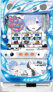 Real Machine Daito Giken Re: Life in a different world starting from zero REM panel with coin-free machine