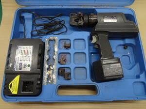 ■泉精器 IZUMI  電動油圧圧着機 REC-60F イズミ 充電式 圧着工具【9】