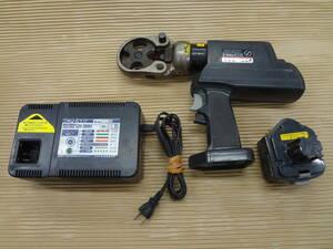 ■泉精器 電動油圧式圧着工具 REC-150F  IZUMI イズミ 電動油圧式工具 【9】