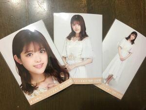 乃木坂46 松村沙友理 生写真 しあわせの保護色 ヨリ チュウ ヒキ 三種 コンプ