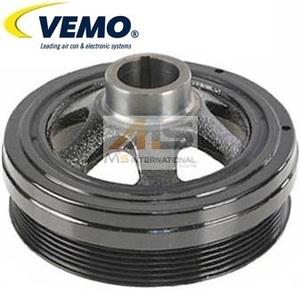 【M's】W220 Sクラス/W215 CLクラス/R129 R230 SLクラス/W639 Vクラス(V6/V8)VEMO クランクプーリー//純正OEM ベンツ AMG 112-035-1400