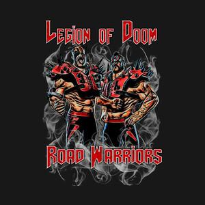 【Tシャツ】 『THE Road Warriors』 ザ・ロード・ウォリアーズ プロレス S/M/L/XL/90/100/110/120/130/140/150/160
