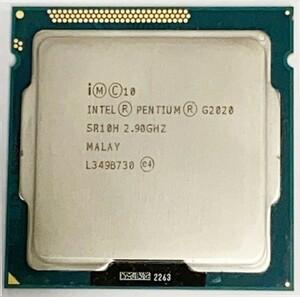【中古パーツ】【CPU】複数可 まとめ買いと送料がお得!! (在庫2枚) INTEL PENTIUM G2020 2.90GHz SR10H LGA1155■CPU G2020