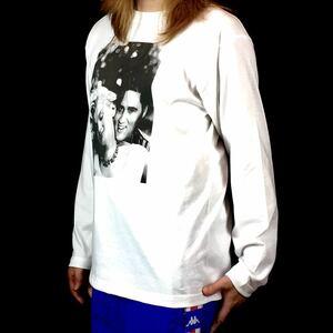 新品 マリリンモンロー エルビスプレスリー セクシー ロカビリー ロンT 長袖 Tシャツ XS S M L XL ビッグ オーバー サイズ XXL~4XL 黒 可