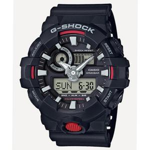 カシオ CASIO Gショック G-SHOCK アナデジ クオーツ メンズ 腕時計 GA-700-1A ブラック ブラック