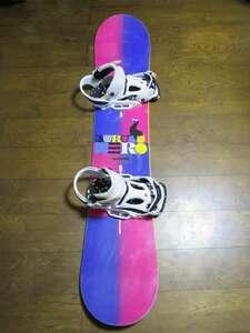 BURTON バートン スノーボード HERO 149cm + BURTON CARTEL カーテル バインディング サイズL 2点セット*salomonK2ridemossDEATHLABEL