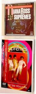 【送料無料】ダイアナ・ロス&シュープリームスCD [グレイテスト・ヒッツ] 全20曲 1986年CD発売 + DVD[LIVE 1968] 68min THE SUPREMES