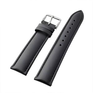 アレス 腕時計用ベルト カーフ ブラック 19mm レバーピン 工具不要 時計バンド 革バンド ベルトのみ wbf19a001
