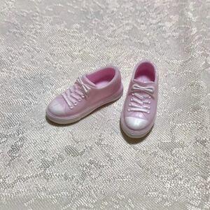 送料無料 1/6ドール ピンク シューズ スニーカー 靴 リカちゃん 人形 ネオブライス ピュアニーモ momoko doll オビツ 25 27 ジェニー