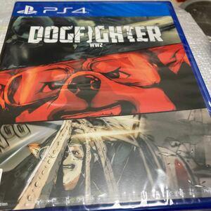 【PS4】 DOGFIGHTER -WW2-新品未開封