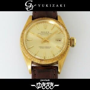 ロレックス ROLEX デイトジャスト 6927 シャンパン文字盤 アンティーク 腕時計 レディース