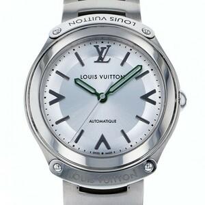 ルイ・ヴィトン LOUIS VUITTON フィフティファイブ Q6G200 シルバー文字盤 中古 腕時計 メンズ