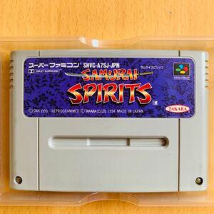 スーパーファミコン ソフト SAMURAI SPIRITS