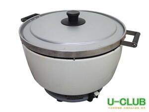◇IC2108 ガス炊飯器 2015年製 パロマ 都市ガス 3.0~8.0L 1.7升~4.4升 PR-8DSS-1 中古 業務用 店舗用