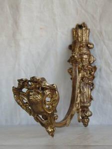 フランスアンティーク カーテンフック カーテンホルダー パーツ ブロンズ 青銅 蚤の市 ブロカント レリーフ ナポレオンⅢ