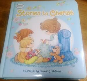 洋書絵本(ボードブック)「Stories to Cherish (Padded Board Book) / Samuel J. Butcher」 Precious Moments/サミュエル・J・ブッチャー