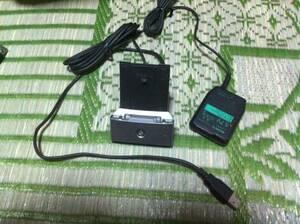 SONY ソニー CLIE用 USBクレードルとアダプター PEGA-UC500 PEGA-AC500