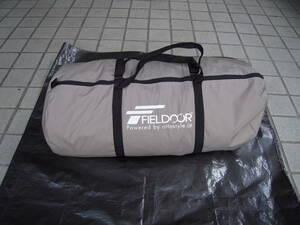 【送料無料】FIELDOOR ONE POLE TENT T/C 400(ワンポールテント T/C 400)+専用グランドシート付き