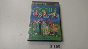 ゴルフ パラダイス SONY PS 2 プレイステーション PlayStation プレステ 2 ゲーム ソフト 中古