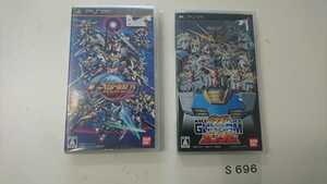 PSP プレイステーション ポータブル PlayStation ソフト BANDAI ガンダム G-WORLD ガンダムVSガンダム 2本 セット 動作確認済 コナミ 中古