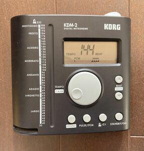 KORG デジタル メトロノーム KDM-2 ジャンク品 送料無料