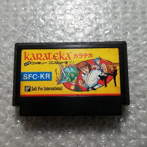 動作確認済 カラテカ ファミコン