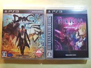 PS3 二本セット♪「DmC デビル メイ クライ」+「スターオーシャン4」