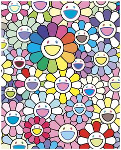 新品未開封 村上隆 版画 murakami takashi 希望の花 Flowers of Hope 限定100枚 / フラワー ポスター カイカイキキ kaikaikiki