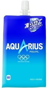 アクエリアス パック 300g 30本 (30本×1ケース) スポーツドリンク イオン飲料 熱中症対策【送料無料】
