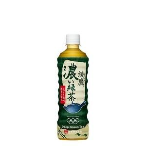 綾鷹 濃い緑茶 PET 525ml 24本 (24本×1ケース) 緑茶 ペットボトル PET 安心のメーカー直送 コカコーラ社【送料無料】