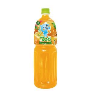 ミニッツメイド Qoo みかん 1.5l 6本 (6本×1ケース) ペットボトル PET フルーツジュース 果汁 オレンジジュース【送料無料】