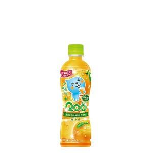 ミニッツメイド Qoo みかん 425ml 24本 (1ケース) PET フルーツ 果汁 オレンジジュース【送料無料】