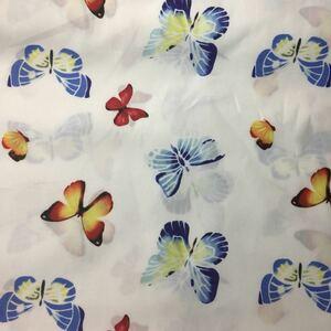 生地 ハギレ 蝶々 花柄 50cm ファブリック