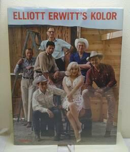 写■エリオット・アーウィット 洋書写真集 Elliott Erwitt's kolor 大型本 te Neues 送料無料