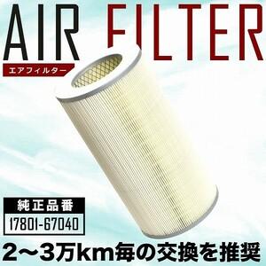 KDH200 series Hiace air filter air cleaner H16.08-H19.08 AIRF28
