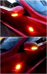door mirror left right set * Turn signal attaching mirror cover original option * CZ4A Lancer Evolution 10