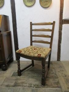 イギリス アンティーク 家具 セール ダイニングチェア 椅子 イス チェア 木製 オーク材 店舗什器 英国 DININGCHAIR 4766c 目玉