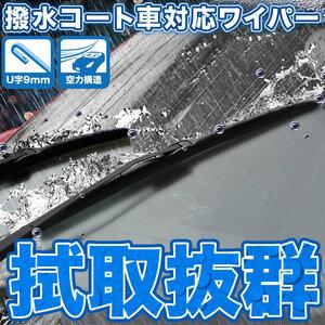 GK1W エクリプスクロス 拭き取り抜群 エアロワイパー ブレード 2本 撥水コート車対応 600mm×500mm
