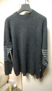 国内 正規商品 patagonia LAMBS WOOL CREW NECK SWEATER M チャコールグレー/SNAP-T FLEECE PULLOVER セーター