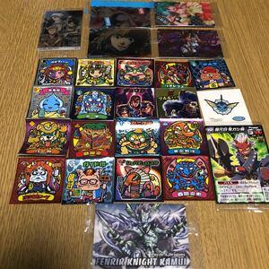 ビックリマンシール・進撃の巨人・星間飛行他トレーディングカード25点セット★☆★