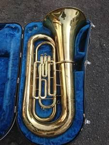 YAMAHA ヤマハ YBB201Ⅱ チューバ ハードケース付 楽器 管楽器 ブラスバンド