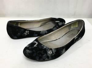 ディーゼル DIESEL デニム ベロア 素材 パンプス US6 23cm シューズ 靴