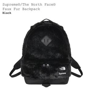 『送料無料』【新品未使用 付属品完備】SUPREME シュプリーム The North Face ノースフェイス Faux Fur Backpack バックパック リュック