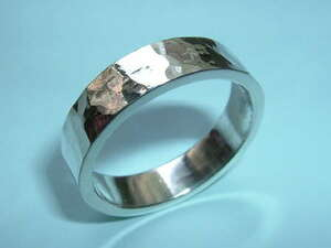 (DH) New! ★ SV925 ★ Handmade, launch ring ★ Width 7.0 mm 17