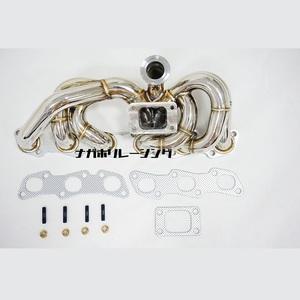 RB25DET ウエストゲート仕様 エキマニ 純正タービン可能! ステンレス エキゾーストマニホールド ECR33 ER34 C34 マフラー インタークーラー