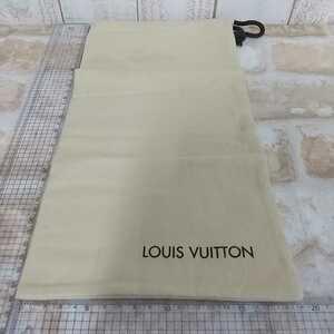 18 LOUIS VUITTON ルイヴィトン  保存袋  巾着袋  19×36cm位