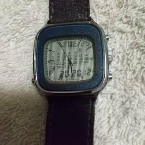 希少 ALBA 二重面相 デジタル 腕時計
