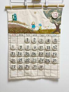 ハンドメイド カレンダー パッチワーク