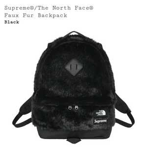 supreme THE NORTH FACE faux fur backpack black シュプリーム ノースフェイス バックパック ブラック 2020 fw aw 新品